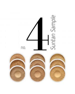 Sample Foundation Set Suntan Sample No.4