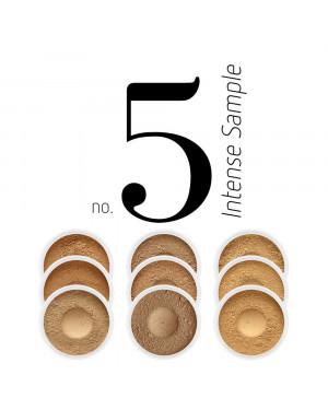 Sample Foundation Set Intense Sample No.5